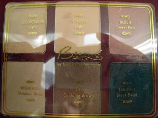 Besame Cosmetics Vanity Case colors