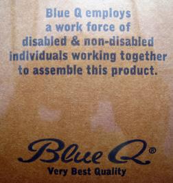 Blue Q label