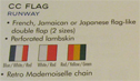 Chanel's catalog description of the 07 Flag Bag