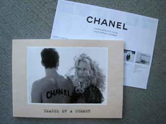 Images of a Summers - Chanel's SS 08 catalog