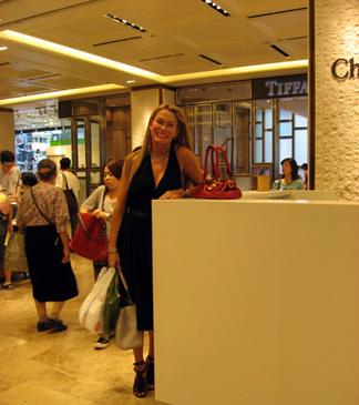 Red Chloe mini Paddington in Tokyo