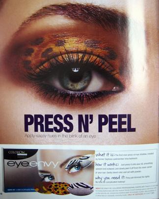 ColorOn Eye Envy press 'n peel eyeshadow