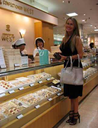At the Confectionery West Counter, Tokyo