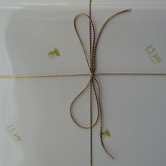 Confectionery West cookie gift box