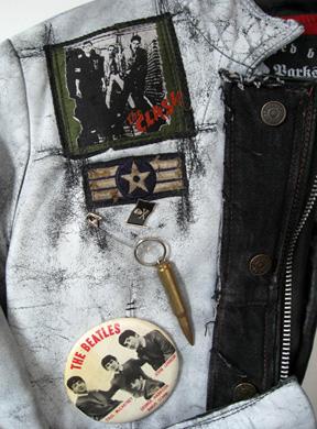 Embellishments on the Corey Parks jacket