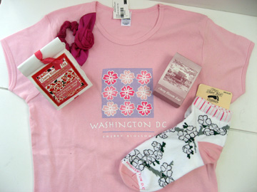 Cherry Blossom memorabilia from DC