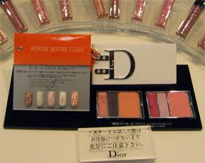 Dior's nail set at Isetan - Remove Before Travel