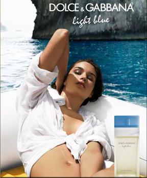 Dolce & Gabbana ad for Light Blue for Women