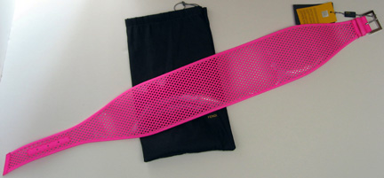Fendi Day Glow pink belt for Spring 2007