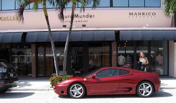Ferrari on Worth Ave, Palm Beach