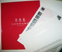 yumyum's copy of Garrard's current catalog