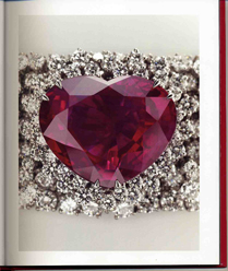 The Heart of the Kingdom ruby as featured in Garrard's current catalog