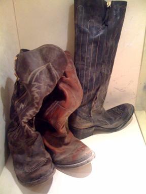 Golden Goose broken-in distressed Western boots