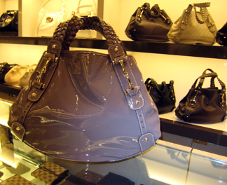 Gucci Fulham with braided handle in mauve for Spring 08