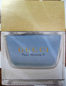 New fragrance by Gucci - Pour Homme II