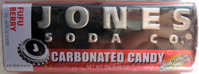 Jones Soda Co. Carbonated Candy - Fufu Berry