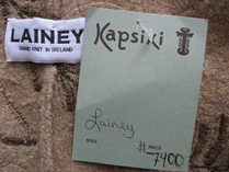 we bought this Lainey collectible at Kapsiki