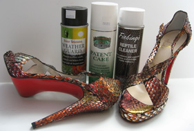 trio of leather cleaners