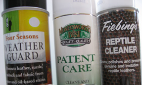 protection, care and specialty leather cleaners