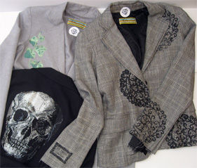 trio of recent Libertine jackets