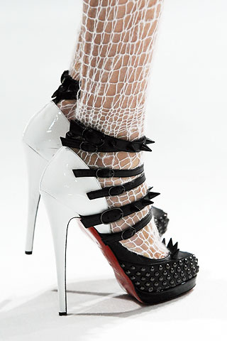 Christian Louboutin for Rodarte Fall 2008 RTW from style.com