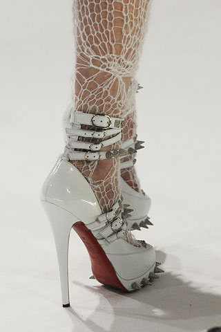 Christian Louboutin for Rodarte Fall 08 from Style.com