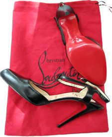 these Louboutin T-straps are perfect