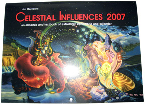 Jim Maynard's Celestial Influences Calendar