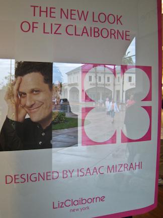 Isaac Mizrahi for Liz Clairborne poster