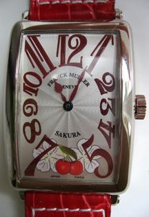 Franck Muller Sakura watch dial