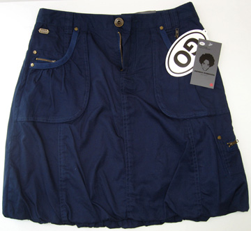 Patrick Robinson for Target oxford blue bubble skirt