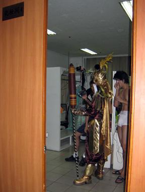 Dressing Room 4 Backstage at the Peking Opera