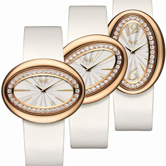 Piaget ad for their Magic Hour watch