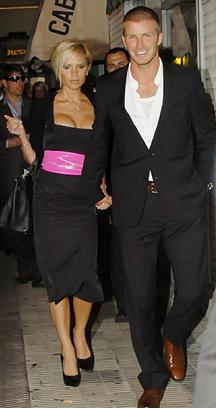 Victoria Beckham in Fendi Spring 2007 belt
