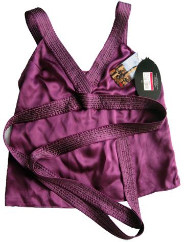 Proenza Schouler for Target purple silk to ($35)