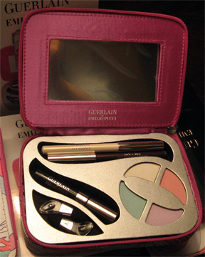Inside the Guerlain for Pucci eyeshadow set