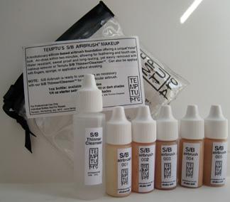Temptu Airbrush S/B Makeup tanning kit