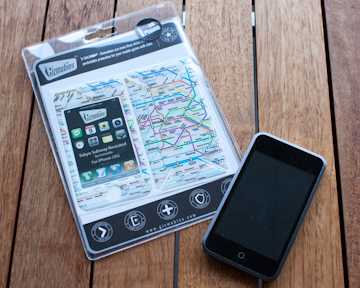 Tokyo subway map cover for iPhone