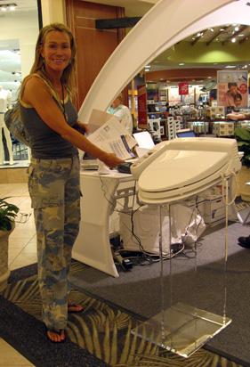 Toto Washlet Galleria Mall