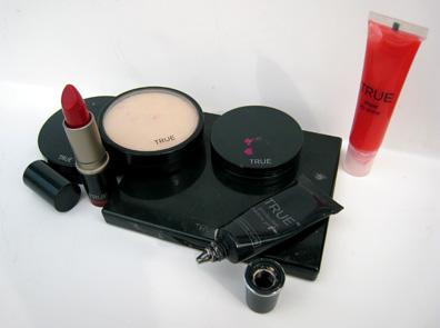 True Cosmetics assortment including Eye Shadow Primer