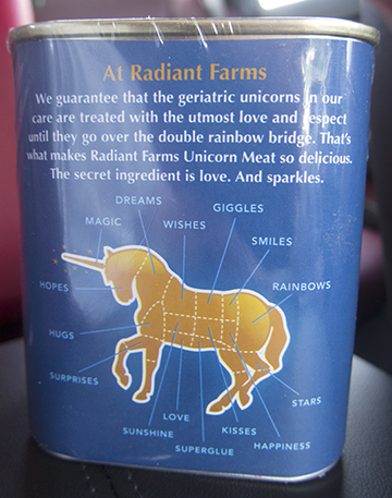 Radiant Farms Unicorn meat