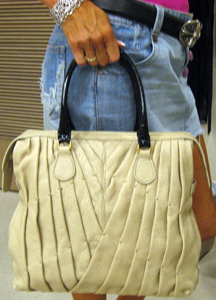Valentino's shopper in bone.  Look for the one in ruby red.