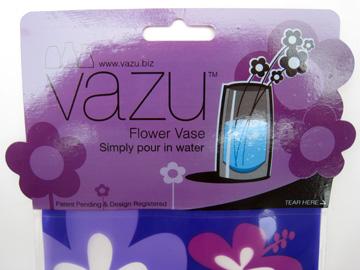 Vazu flower vase package