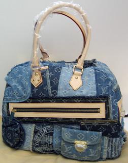 Vuitton SS 2007 denim Bowly