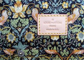 Vuitton 2007 denim patchwork Bowly lining